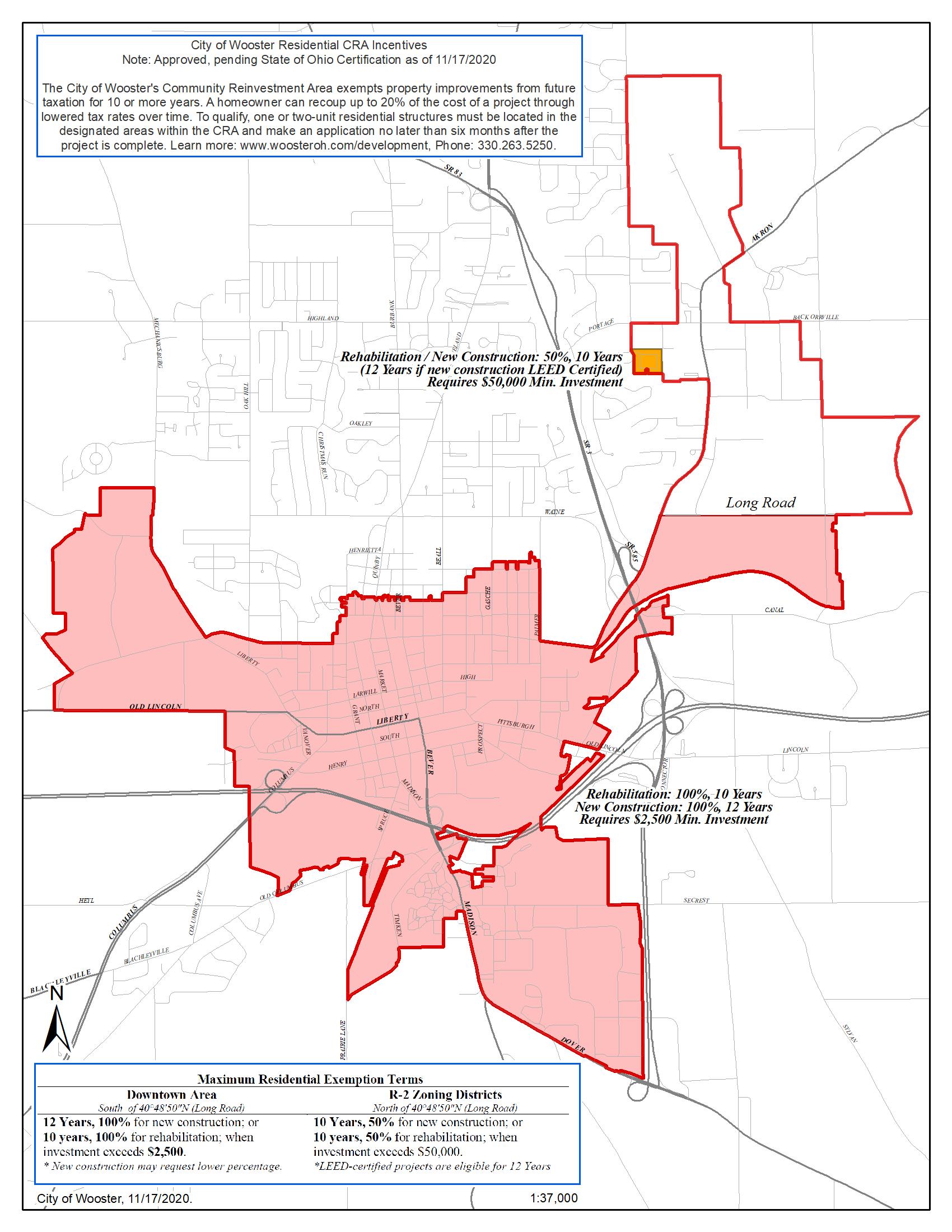 CRA Map 2020
