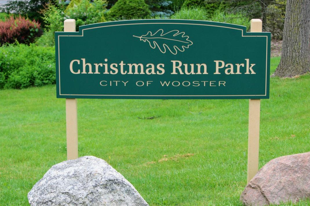 Christmas Run Park Wooster Ohio.Christmas Run Park City Of Wooster Ohio