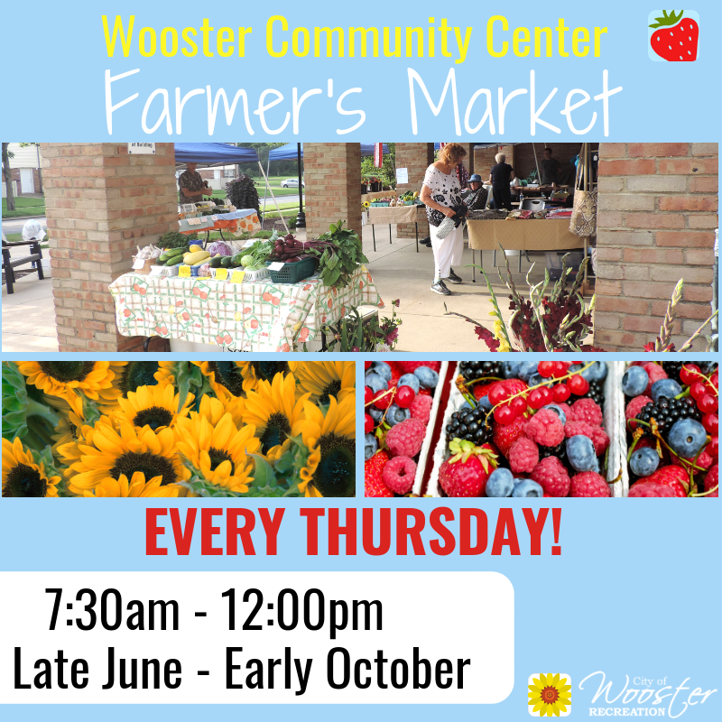 Farmers Market Thursdays  late June through early October