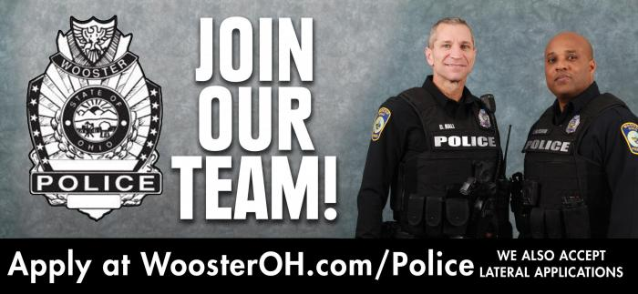 Police | City of Wooster Ohio