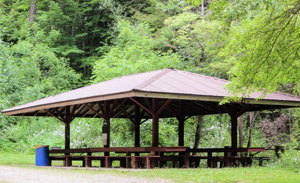 Christmas Run Park Pavilion